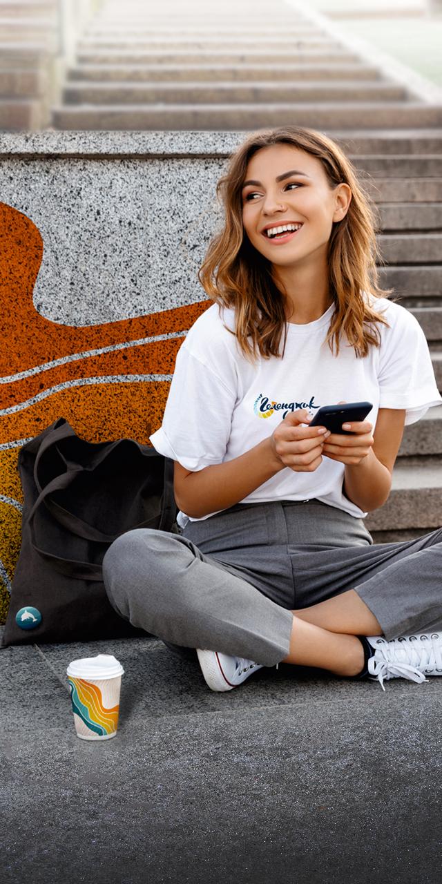 Айдентика туристического бренда Геленджик в городской среде и сувенирной продукции