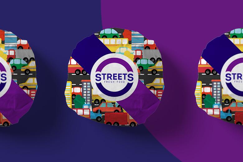 Яркий дизайн упаковки иркутской компании Streets
