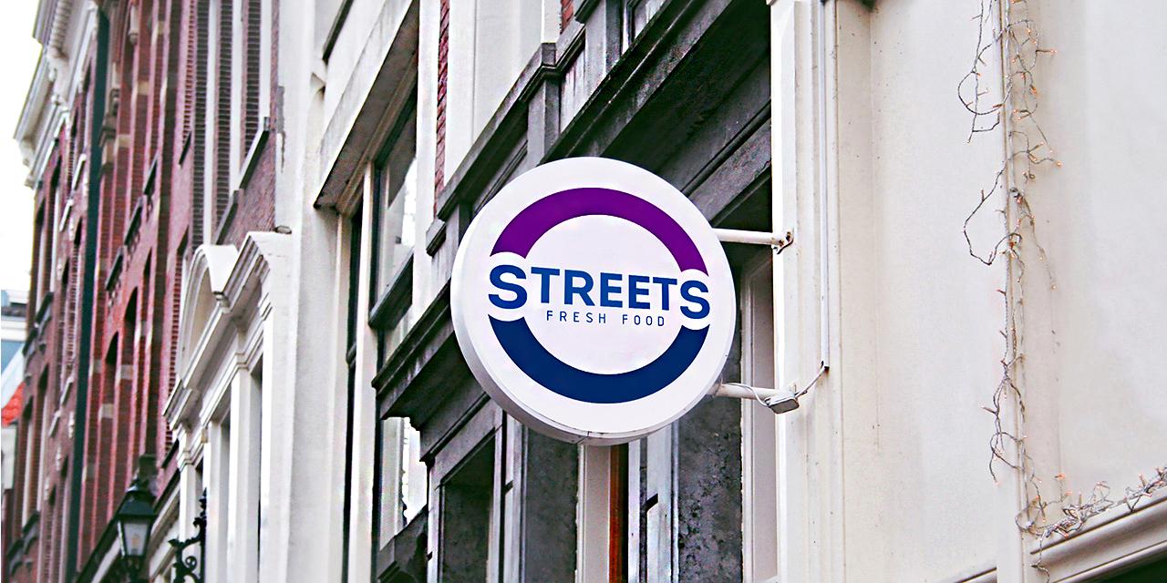 Вывеска - элемент айдентики иркутского бренда Streets
