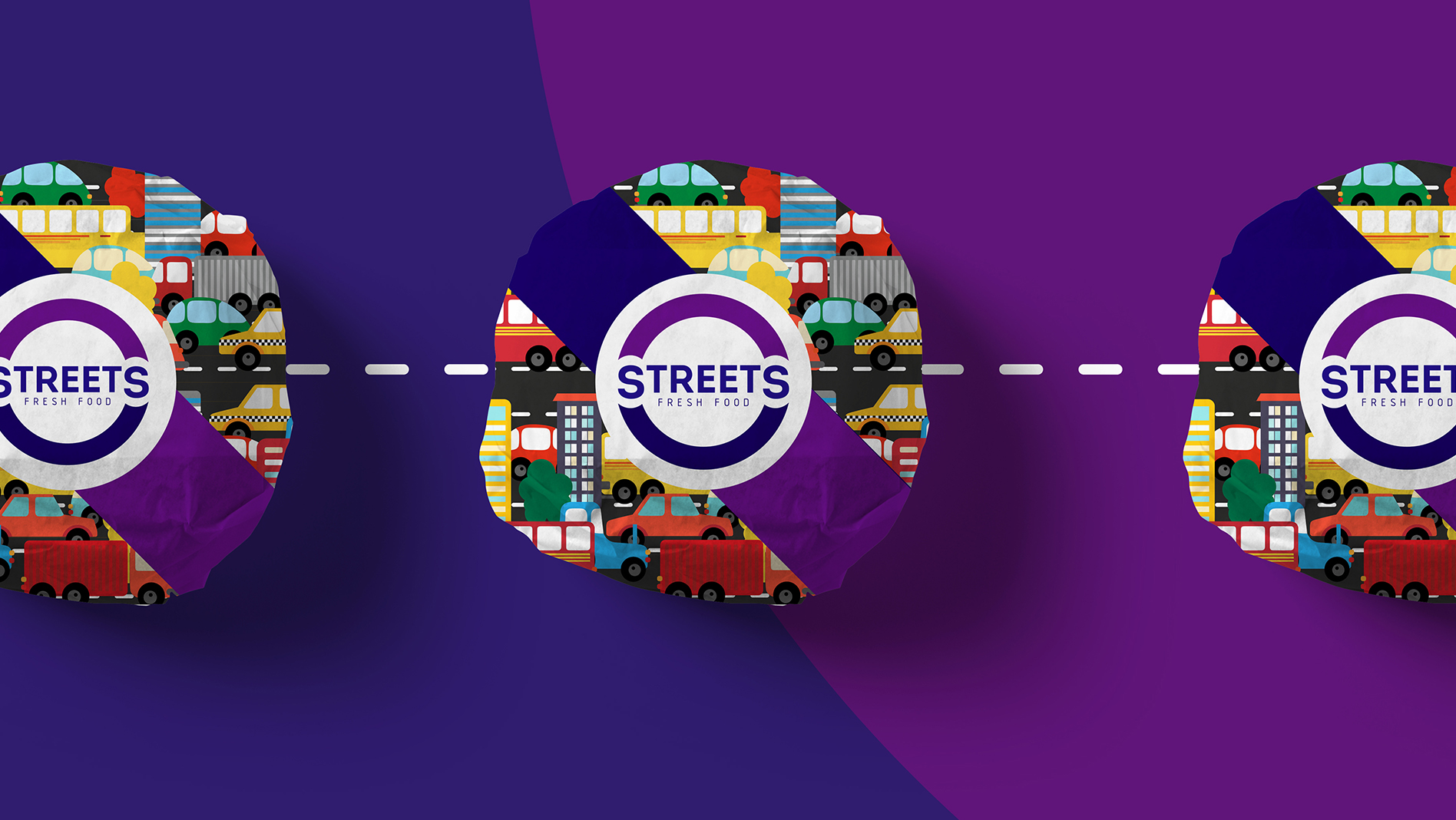 Яркая упаковка для иркутской компании Streets