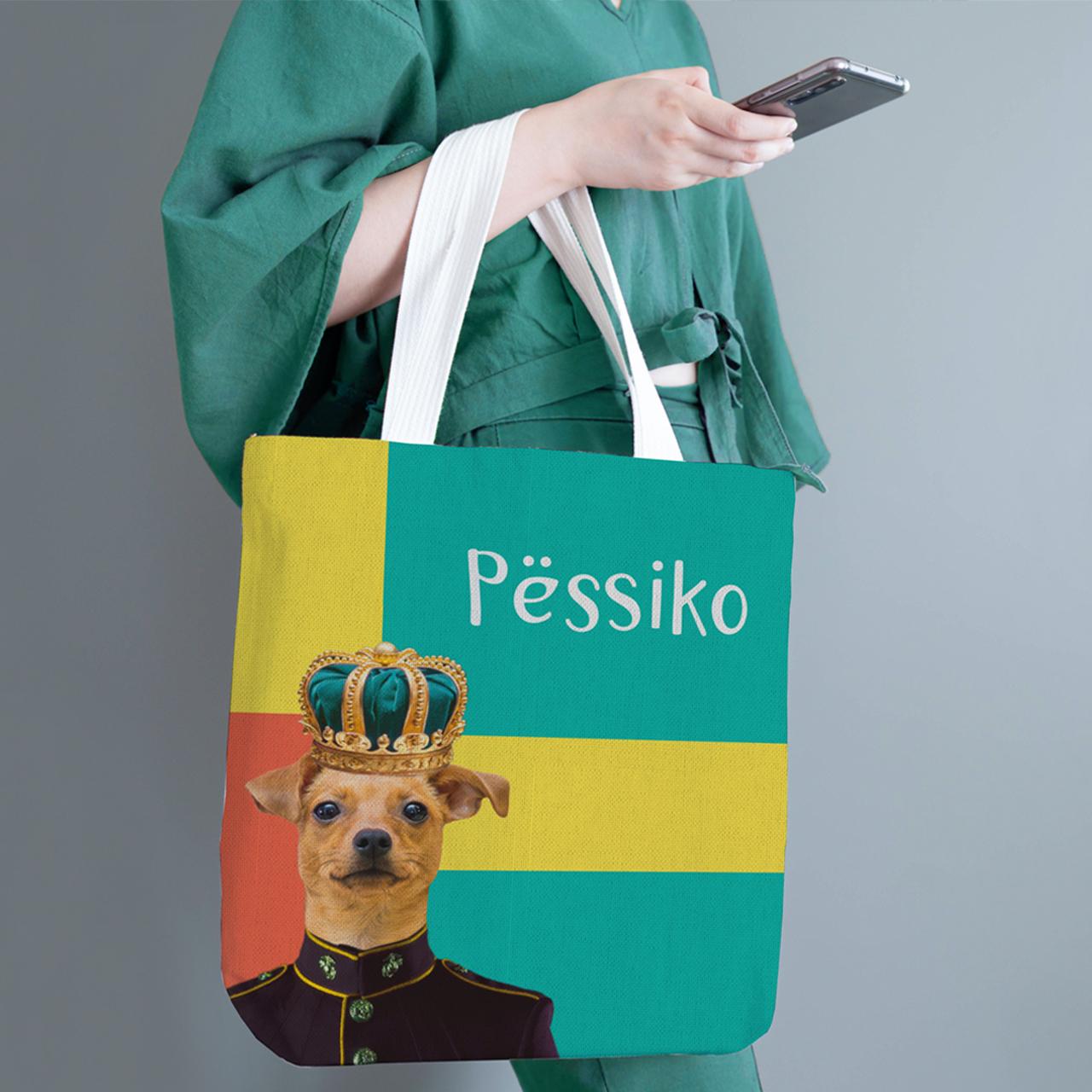 Айдентика бренда Пёссико на примере шоппера